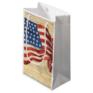 Star Spangled Banner Small Gift Bag