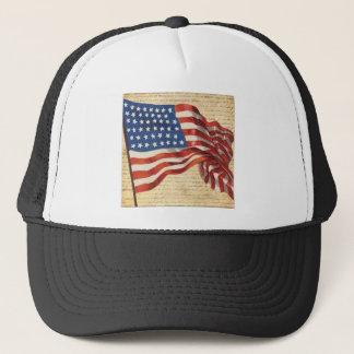Star Spangled Banner Trucker Hat