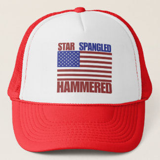 Star Spangled Hammered Trucker Hat