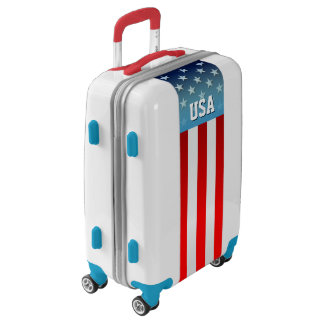 Star-Spangled Style Luggage