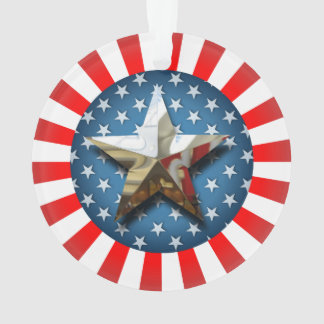 Star-Spangled Style Ornament