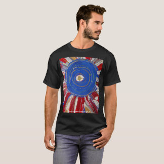 """Star-Spangled Sun"" by Candy Waters Autism Artist T-Shirt"
