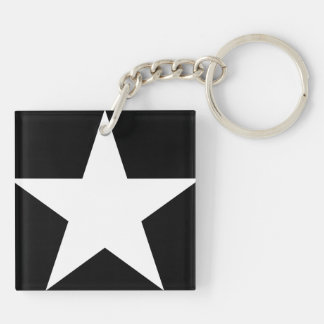 Star / Square (double-sided) Keychain