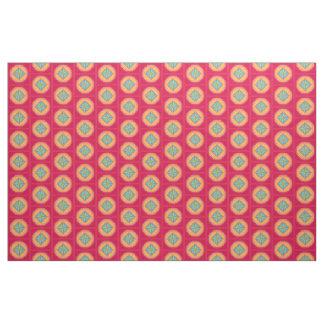 star square polygon fabric