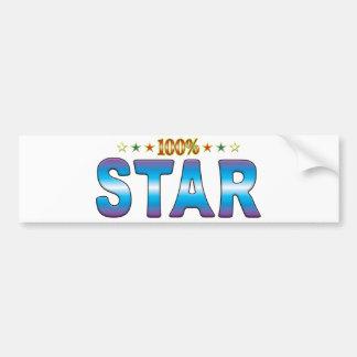 Star Star Tag v2 Bumper Stickers