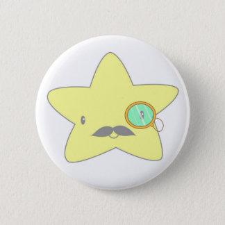 star stash 6 cm round badge