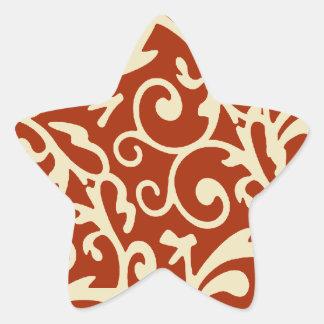 star star sticker