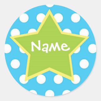 Star Sticker for Boys - Customizable