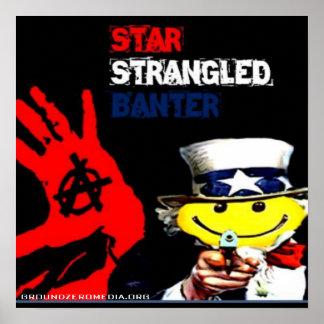 Star Strangeled Banner Poster