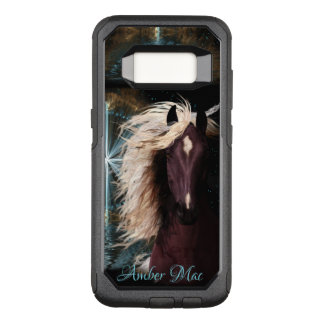 Star Struck Horse Case, your device, colour & name OtterBox Commuter Samsung Galaxy S8 Case