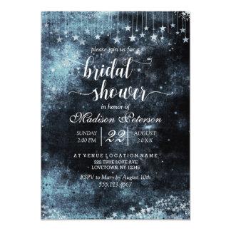 Star Struck Watercolor Bridal Shower Invitation