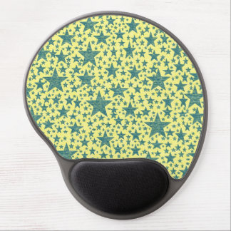 Star Studded Blue Gel Mousepad