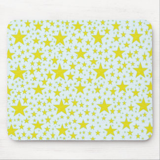 Star Studded Gold Mousepad