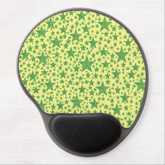 Star Studded Green Gel Mousepad