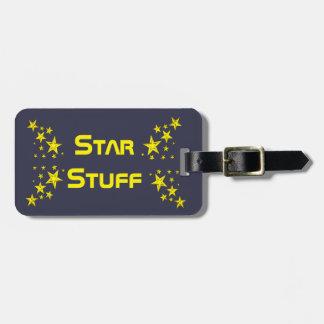 Star Stuff Luggage Tag