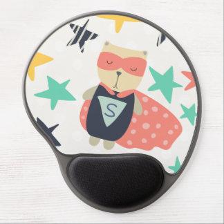 Star Super Hero Gel Mouse Pad