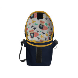 Star Super Hero Messenger Bags