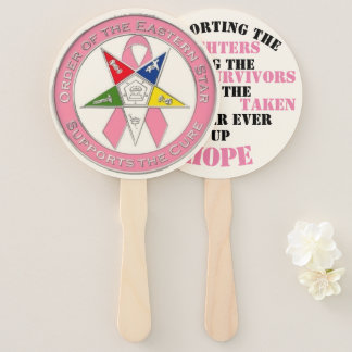 Star Supports The Cure Hand Fan