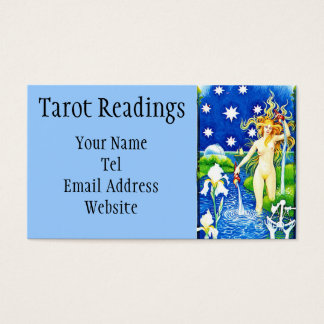 Star Tarot reading Business Card