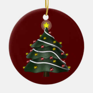 Star-topped Christmas Tree Ornament