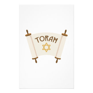 Star Torah Stationery