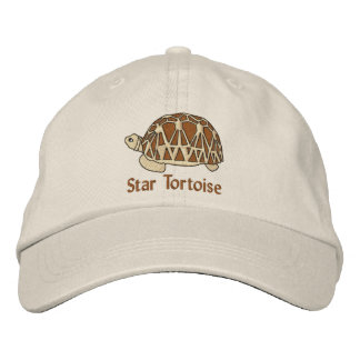 Star Tortoise Hat (embroidery) Baseball Cap
