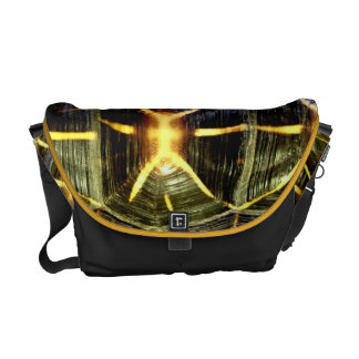 Star tortoise shell messenger bag