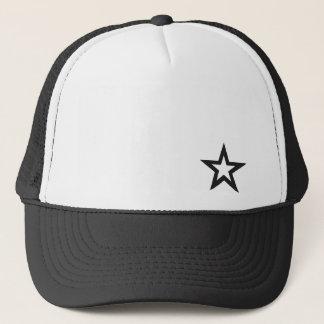 Star Trucker Hat by FoodBlogsStar.com
