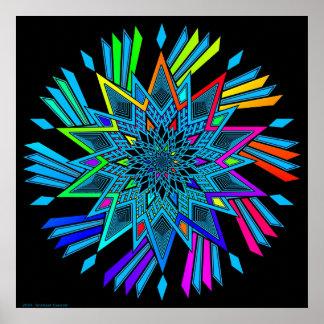 Star Twirl Poster