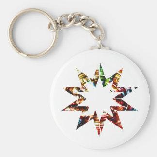 Star V2 - Sparkle Red Star Key Chain
