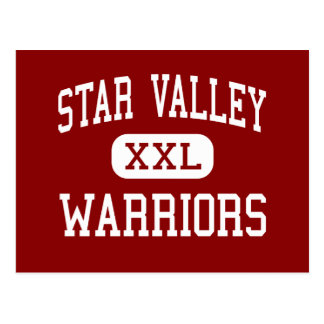 Star Valley - Warriors - Middle - Afton Wyoming Postcard