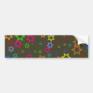 Star Wallpaper Bumper Sticker