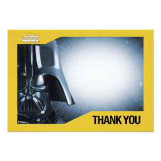 Star Wars Darth Vader Thank You Cards