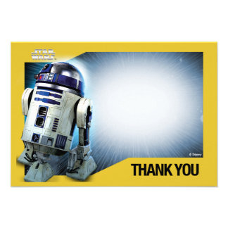 Star Wars R2-D2 Thank You Cards