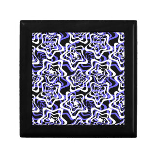 Star white ,blue,black 2 gift box