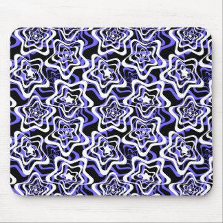 Star white ,blue,black 2 mouse pad