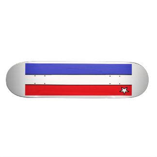 Star & White & Blue & Red - SK8 Deck Skateboard Deck