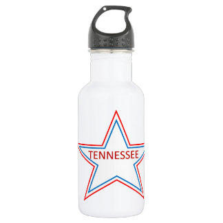 Star with Tennessee in it. 532 Ml Water Bottle