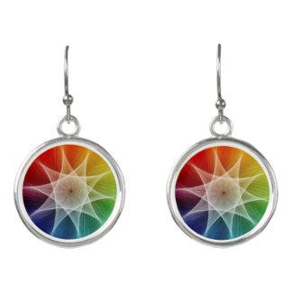 Starburst and Colorpicker Earrings