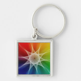 Starburst and Colorpicker Key Ring