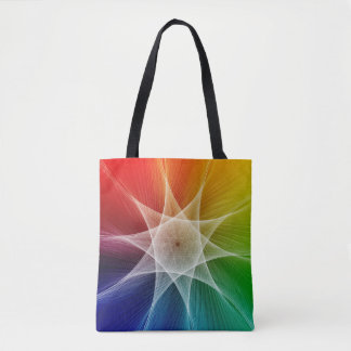 Starburst and Colorpicker Tote Bag