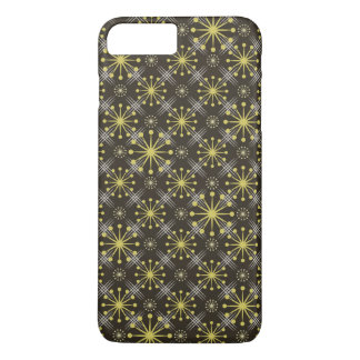 Starburst and Lines Mid Century Pattern Earth Hues iPhone 8 Plus/7 Plus Case