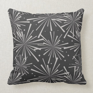 Starburst Charcoal Gray Cushion