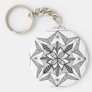 Starburst Clover Keychains