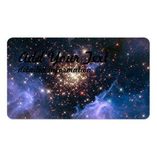 Starburst Cluster Shows Celestial Fireworks Pack Of Standard Business Cards
