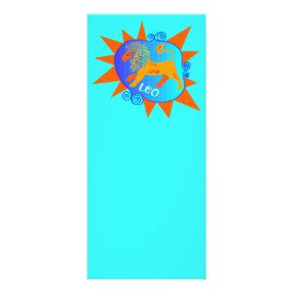 Starburst Leo Customised Rack Card