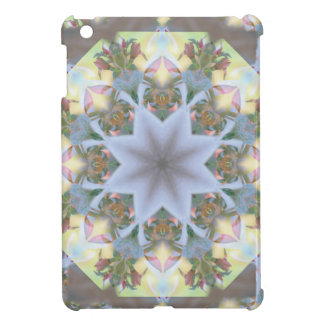 Starburst Mandala Lavender iPad Mini Glossy Case iPad Mini Covers