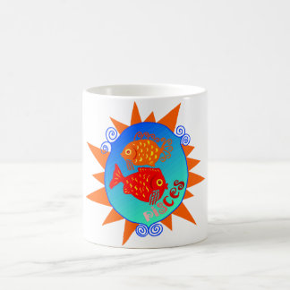 Starburst Pisces Mug