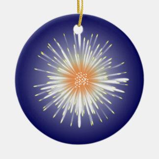Starburst Round Ceramic Decoration