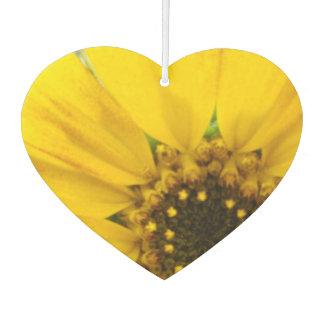 Starburst Sunflower Car Air Freshener
